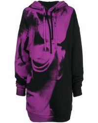 Maison Margiela - Print Long Sweatshirt - Lyst