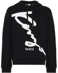 KENZO - Hooded Sweatshirt - Lyst