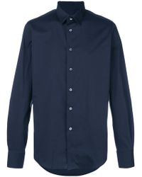 Dell'Oglio - Curved Hem Shirt - Lyst