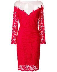 Olvi ́S - Off-shoulder Floral Lace Dress - Lyst