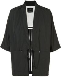 Iise - Lace-up Jacket - Lyst