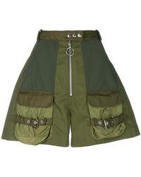 Marques'Almeida - High-waist Military Shorts - Lyst