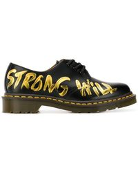 Comme des Garçons - Strong Will Painted Oxfords - Lyst