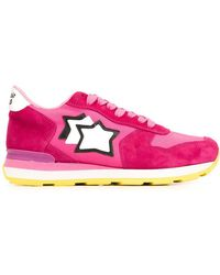 Atlantic Stars - - 'vega' Sneakers - Women - Leather/suede/polyester/rubber - 36 - Lyst