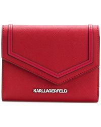 Karl Lagerfeld - Leather Purse - Lyst