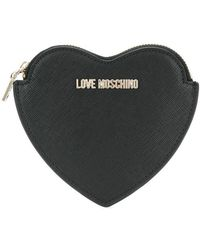 Love Moschino - Heart-shaped coin purse - Lyst