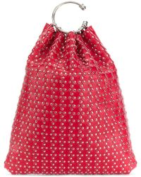 RED Valentino - Red(v) Studded Tote - Lyst