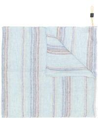 Canali - Striped Scarf - Lyst