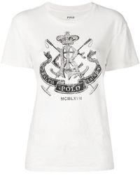 Polo Ralph Lauren - Crest Graphic T-shirt - Lyst