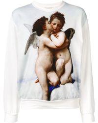 Fiorucci - Graphic Angel Print Sweatshirt - Lyst