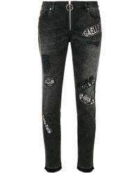 Gaëlle Bonheur - Logo Patch Skinny Jeans - Lyst