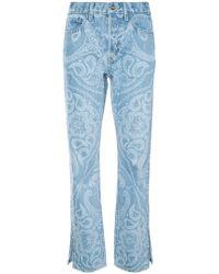 Jonathan Simkhai - Paisley-print Jeans - Lyst