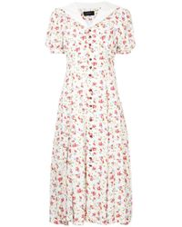 G.v.g.v - Sailor Collar Floral Dress - Lyst