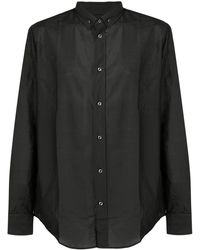 Maison Margiela Button-down-Hemd mit lockerer Passform