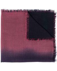 Ermenegildo Zegna - Écharpe colour block - Lyst