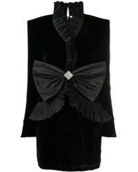 Alessandra Rich - Vestito con fiocco - Lyst