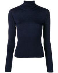 Chloé - Ribbed Turtle Neck Jumper - Lyst
