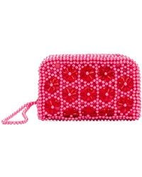 Shrimps - Embellished Domenica Clutch Bag - Lyst