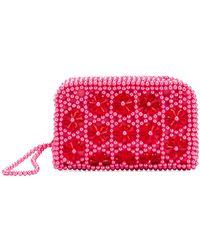 Shrimps - Embellished Domenica Clutch Bag - Lyst