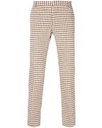 Entre Amis - Checked Trousers - Lyst