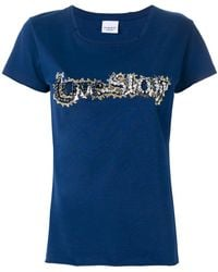 Pinko - Embroidered Short-sleeve T-shirt - Lyst
