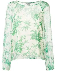 Essentiel Antwerp - Silent Sheer Floral Top - Lyst