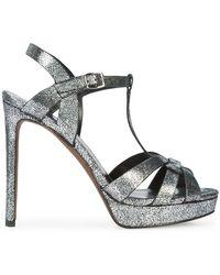 Lola Cruz - Multi-strap Platform Sandals - Lyst