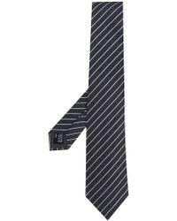 Giorgio Armani - Diagonal Stripe Tie - Lyst