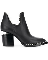 Alexander Wang - Gabi Cut-out Ankle Boots - Lyst
