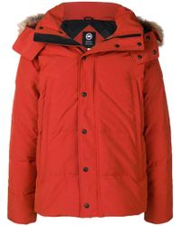 Canada Goose - Hooded Padded Jacket - Lyst