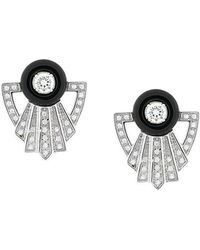 V Jewellery - Garance Earrings - Lyst