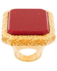 Balenciaga - Large Square Ring - Lyst