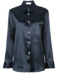 Mansur Gavriel - Long Sleeve Shirt - Lyst