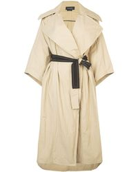 Yigal Azrouël Oversized Trench Coat