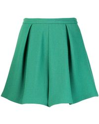L'Autre Chose - Pleated Shorts - Lyst