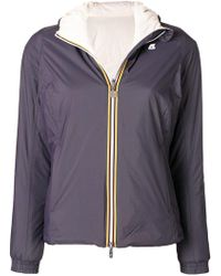 K-Way - Lily Warm Fitted Jacket - Lyst