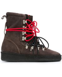 Represent - Contrast Lace Hiking-style Boot - Lyst