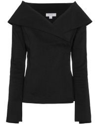 Beaufille | Off-shoulder Collar Jacket | Lyst