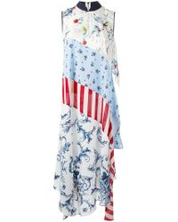Antonio Marras - Patchwork Maxi Dress - Lyst
