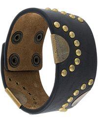 DSquared² - Studded Cuff Bracelet - Lyst