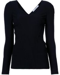 Givenchy - Sweetheart Neck Top - Lyst