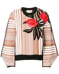 ROKSANDA - Embroidered Patterned Sweater - Lyst