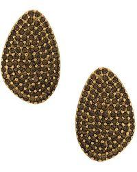 Camila Klein - Strass Embellished Earrings - Lyst