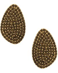 Camila Klein - Strass Embellished Earrings - Lyst
