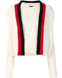 Moncler - Two Piece Knitted Top - Lyst