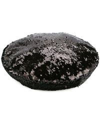 Racil - Sequinned Beret - Lyst