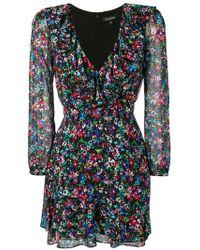 e893e062c09c Farfetch. Saloni - Floral Print Mini Dress - Lyst