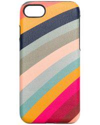 Paul Smith Black Label - Rainbow iPhone8 case - Lyst
