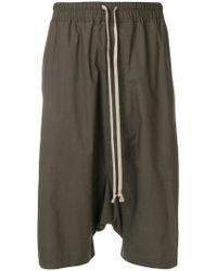 Rick Owens - Rick's Pods shorts - Lyst