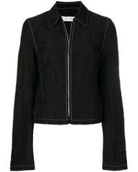 Wales Bonner - Classic Collar Zipped Jacket - Lyst